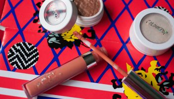 Colorpop Matte liquid lipstick (Instigator) & eye shadow (Lala and Sequin)  Review & Swatches