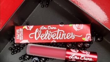 Lime Crime Red Rose Velvetines Matte Liquid Lipstick| Review & Swatch