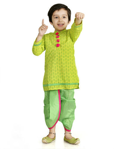 How to tie a dhoti on kids