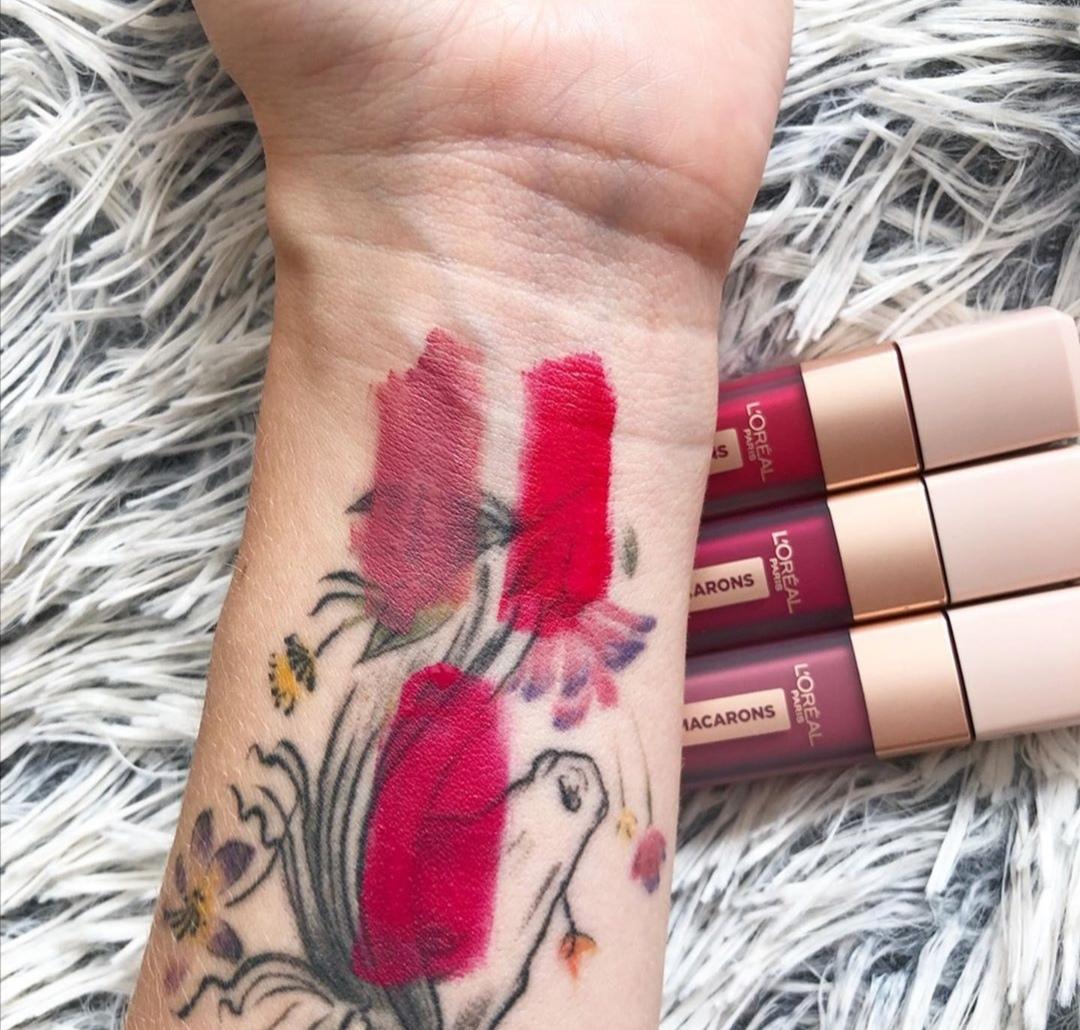 L'oreal les macaron infallible ultra matte lipsticks