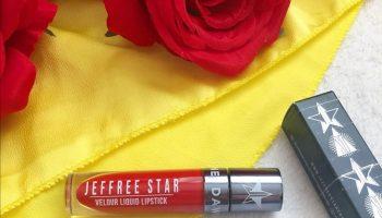 Jefree Star Velour Liquid Lipstick (Redrum)|Review & Swatch