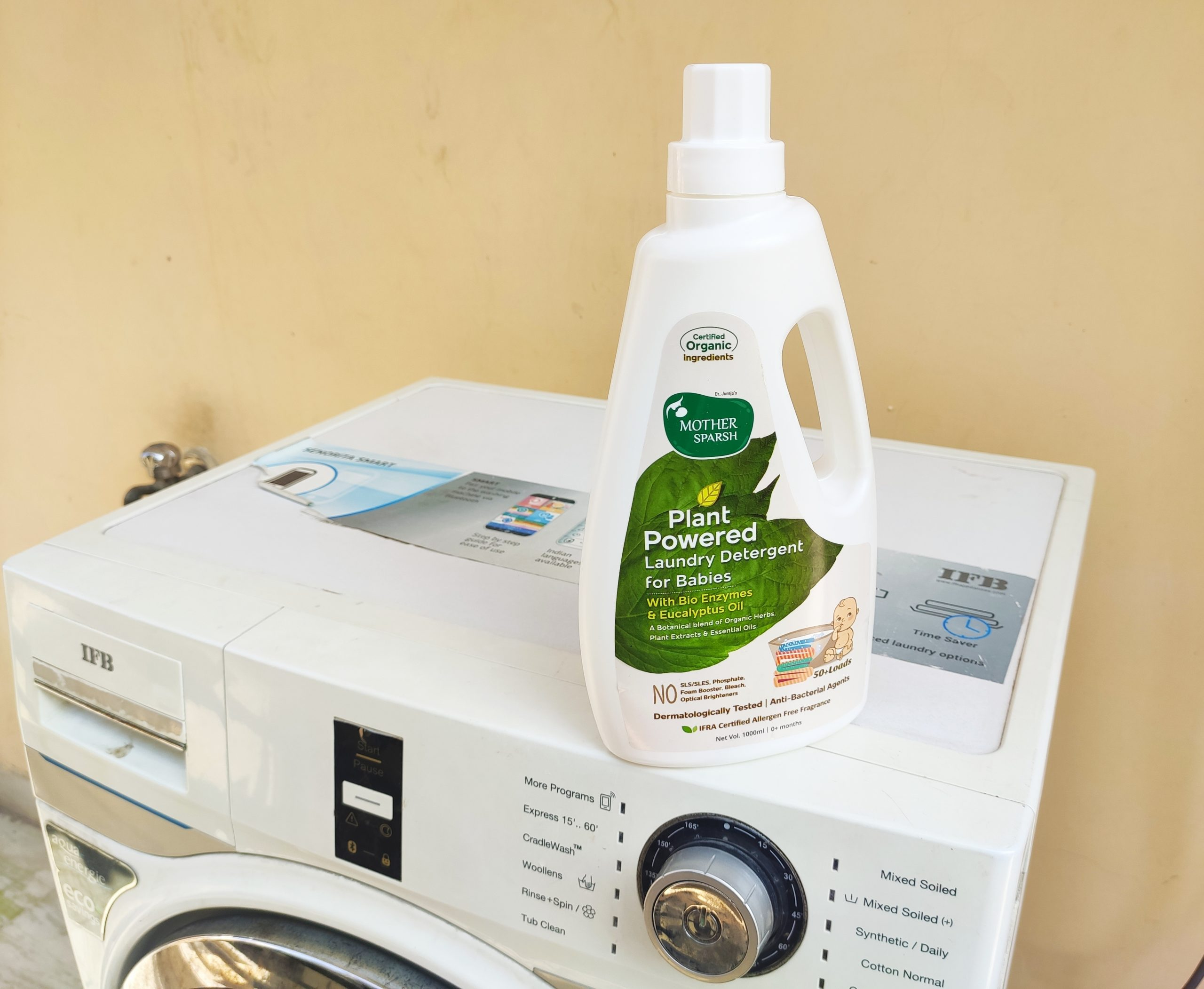 Mother Sparsh Plant Powered Laundry Detergent|Review