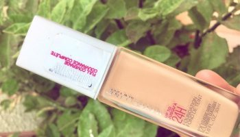 Maybelline Super Stay 24 H Foundation (Classic Ivory)|Review & Swatch