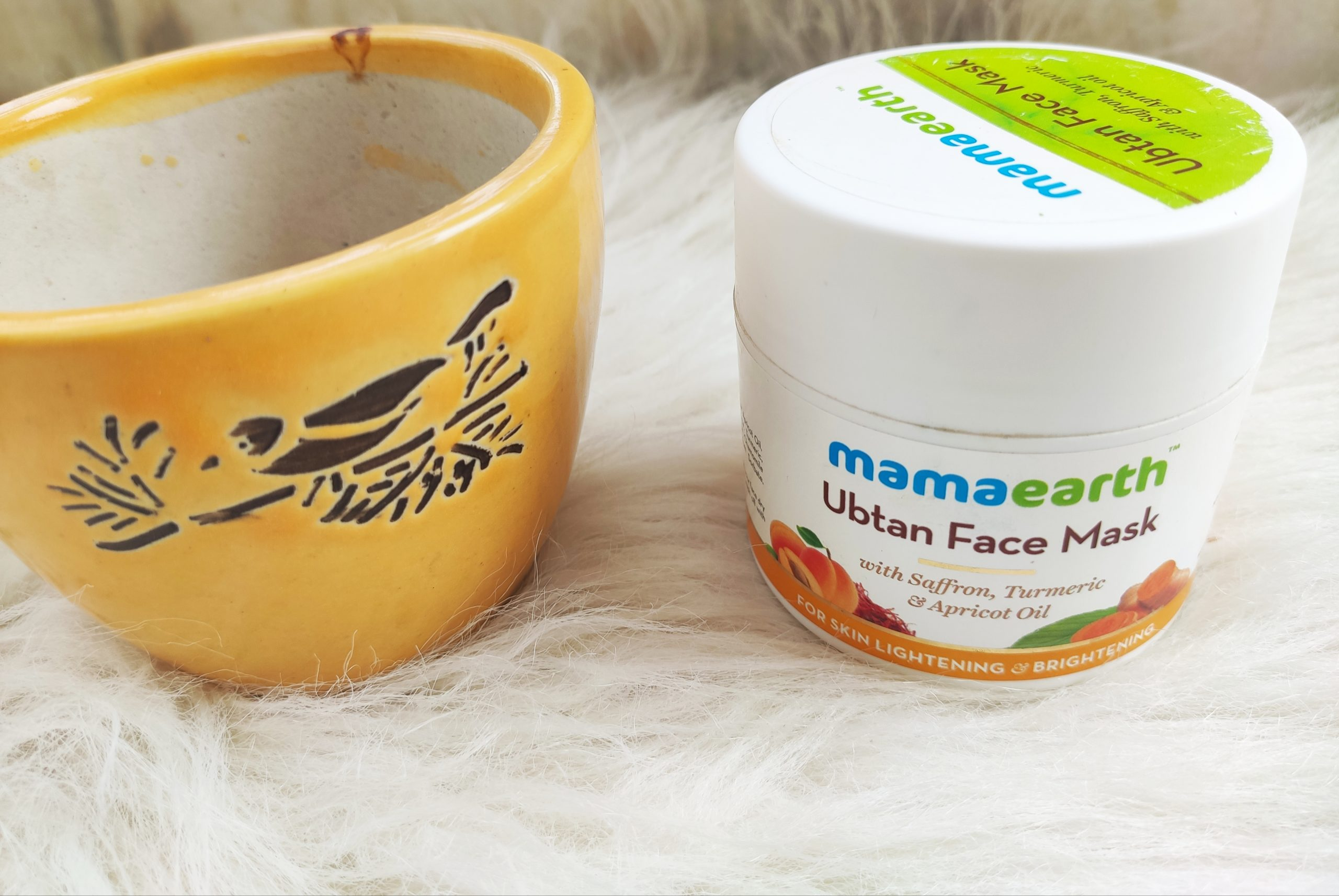 MamaEarth Ubtan Face Mask |Review