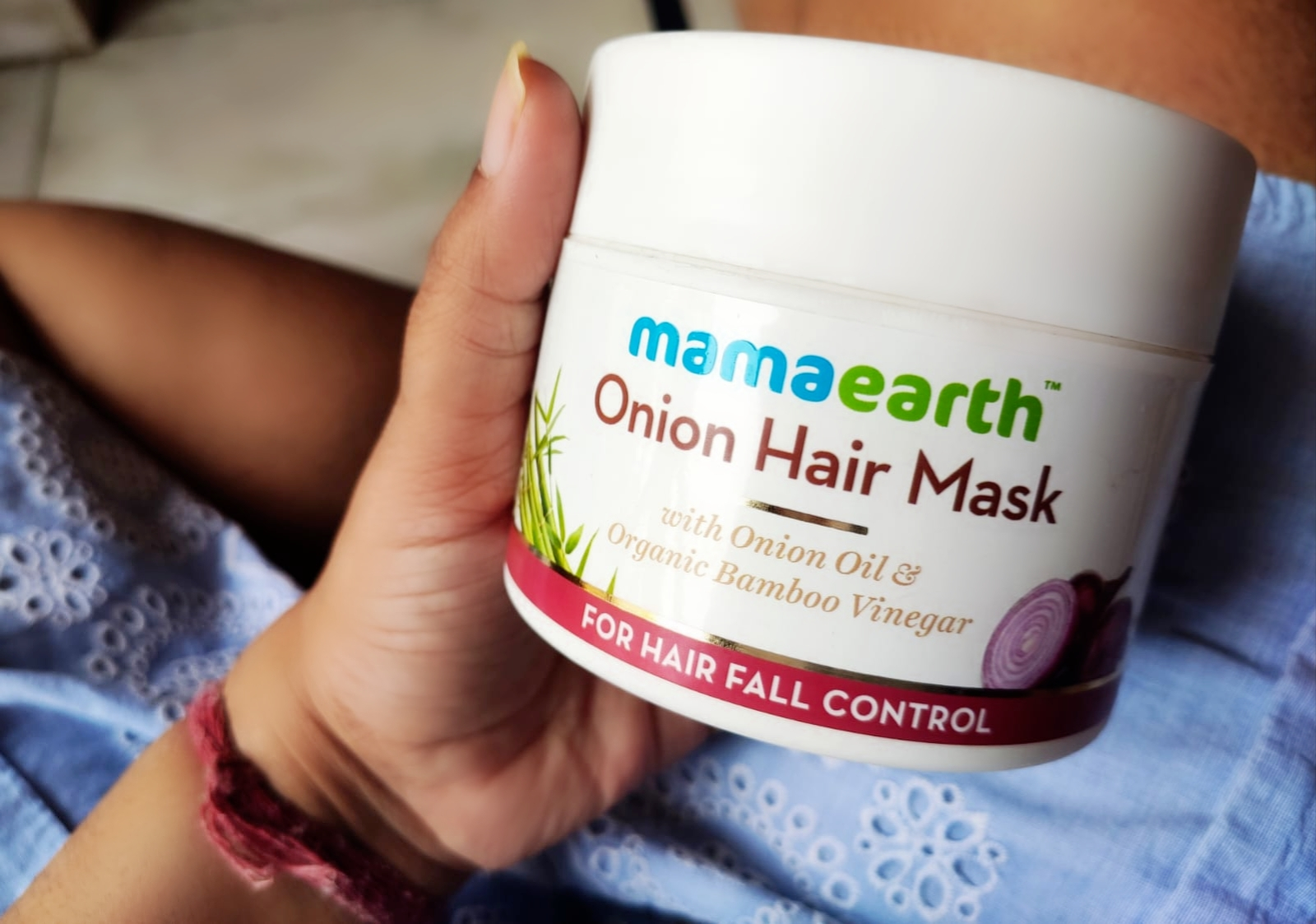MamaEarth Onion Hair Mask|Review