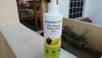 Mamaearth Skin Healing Body Lotion Review