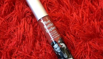 the Balm Meet Matt(e) Huges (Charming) Lipstick|Review & Swatch
