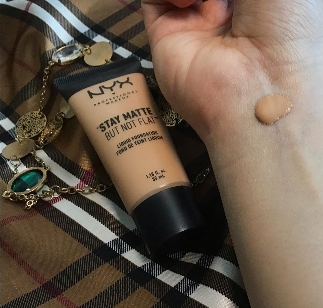 NYX products and Stay Matte But Not Flat Foundation