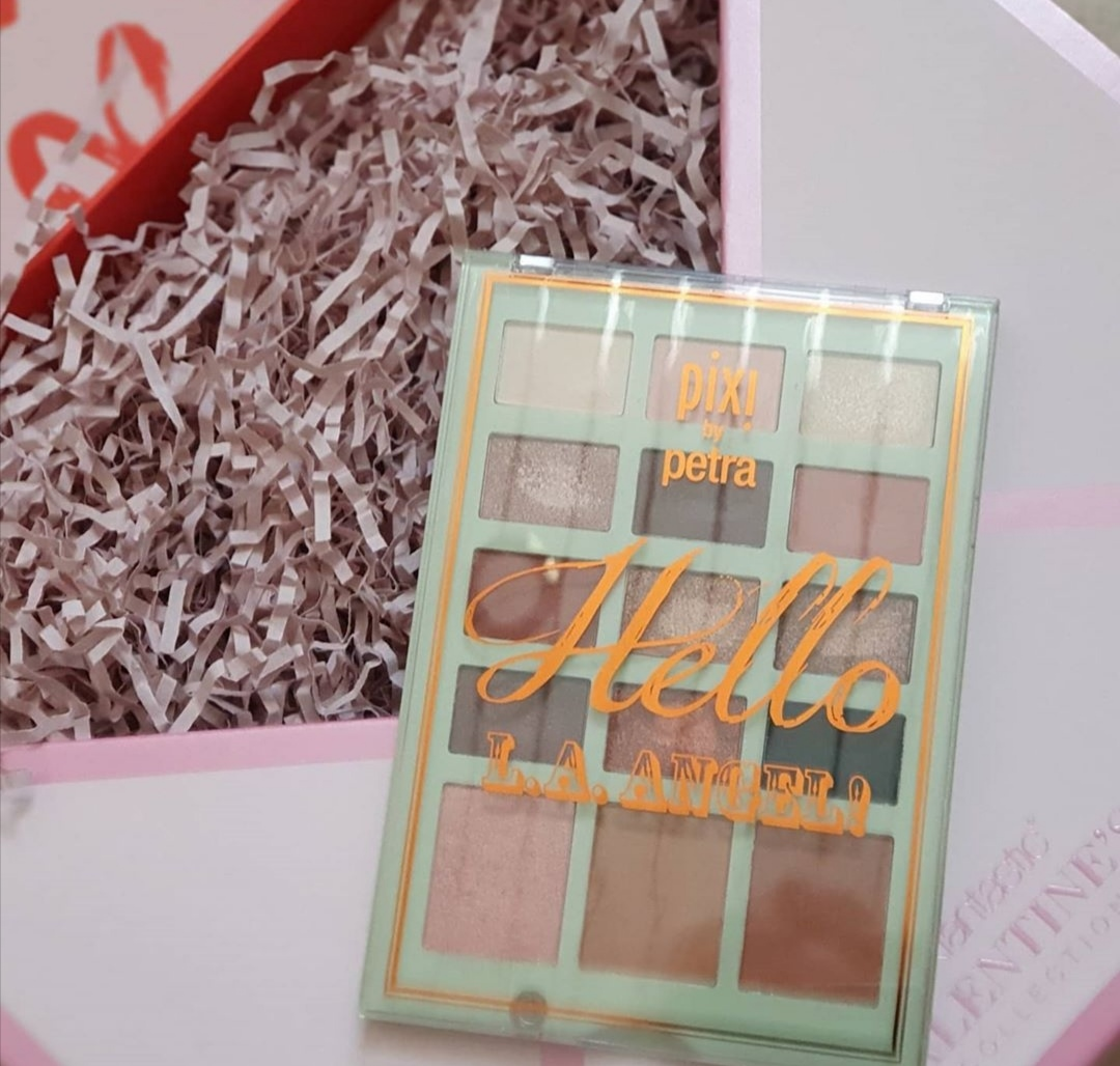 Pixi by Petra hello la angel palette|Review & swatches