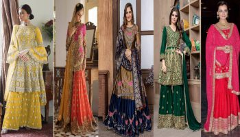 Latest Wedding Sharara/Garara Designs