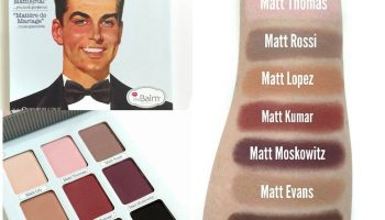 TheBalm Meet Matt(e) Trimony Palette| Review & Swatches