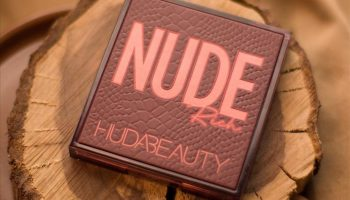 Huda Beauty Nude (Rich) Obsessions Eyeshadow Palette| Review & Swatches
