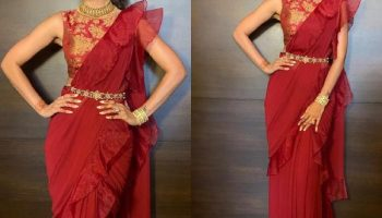 4 Unique ways of draping saree