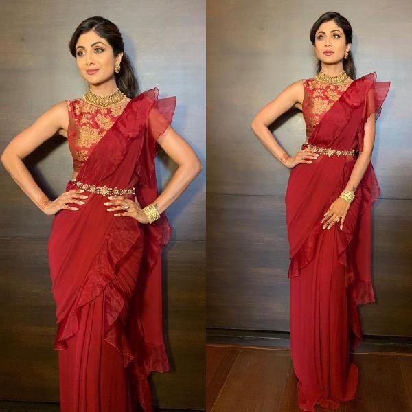 4 Unique ways of draping saree