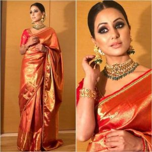 How To Wear Banarsi Saree