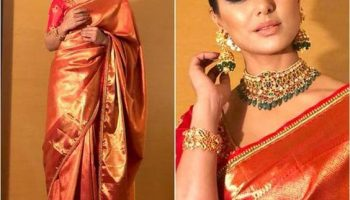 How To Wear Banarsi Saree|Step By Step Tutorial