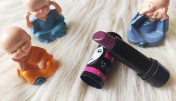 Elle 18 Color Pops Silk Lipstick W52| Review & Swatch