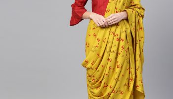 FlipKart Dhoti Style (Ishin) Saree|Review