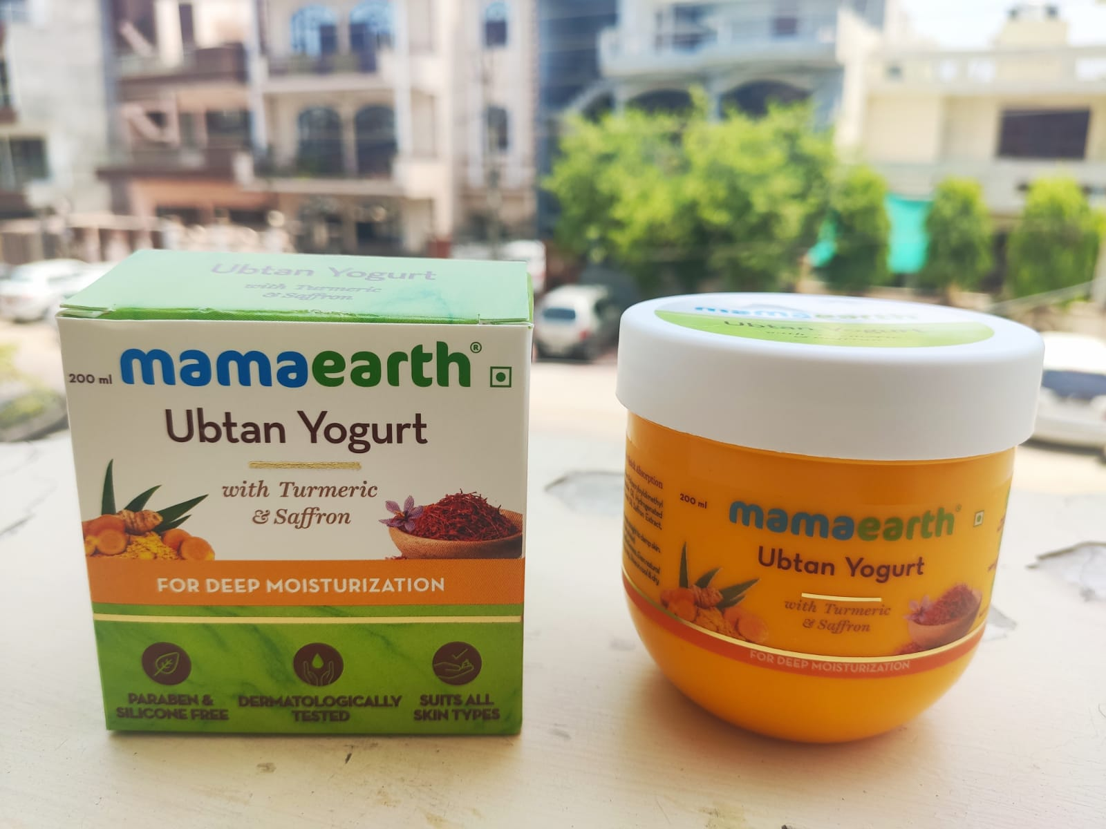 MamaEarth Ubtan Yogurt|Review