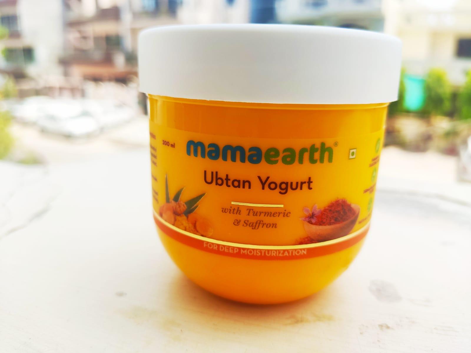 MamaEarth Ubtan Yogurt
