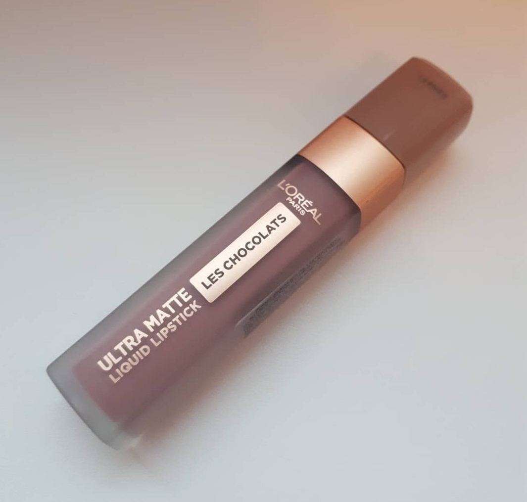 L'Oreal Les Chocolats Ultra Matte Lipstick (Candy Man)|Review & Swatch