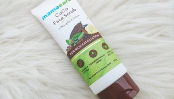 MamaEarth CoCo Face Scrub|Review
